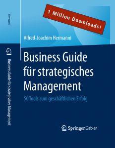 Professor Hermanni hat das Buch Business Guide für strategisches Management geschrieben, das inzwischen über eine Million Downloads erzielte.